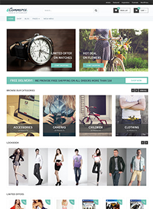 Mẫu web wordpress Theme Ecommerce ecommer-preset-thumb-5