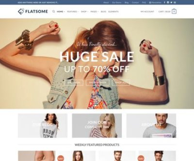 Mẫu website wordpress theme Flatsome Fs-classic-shop-11