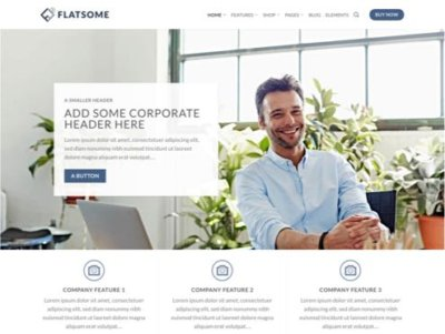 Mẫu web theme Flatsome wordpress Fs-corporate-18