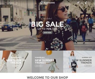 Mẫu theme wordpress Flatsome -screen-fashion-12