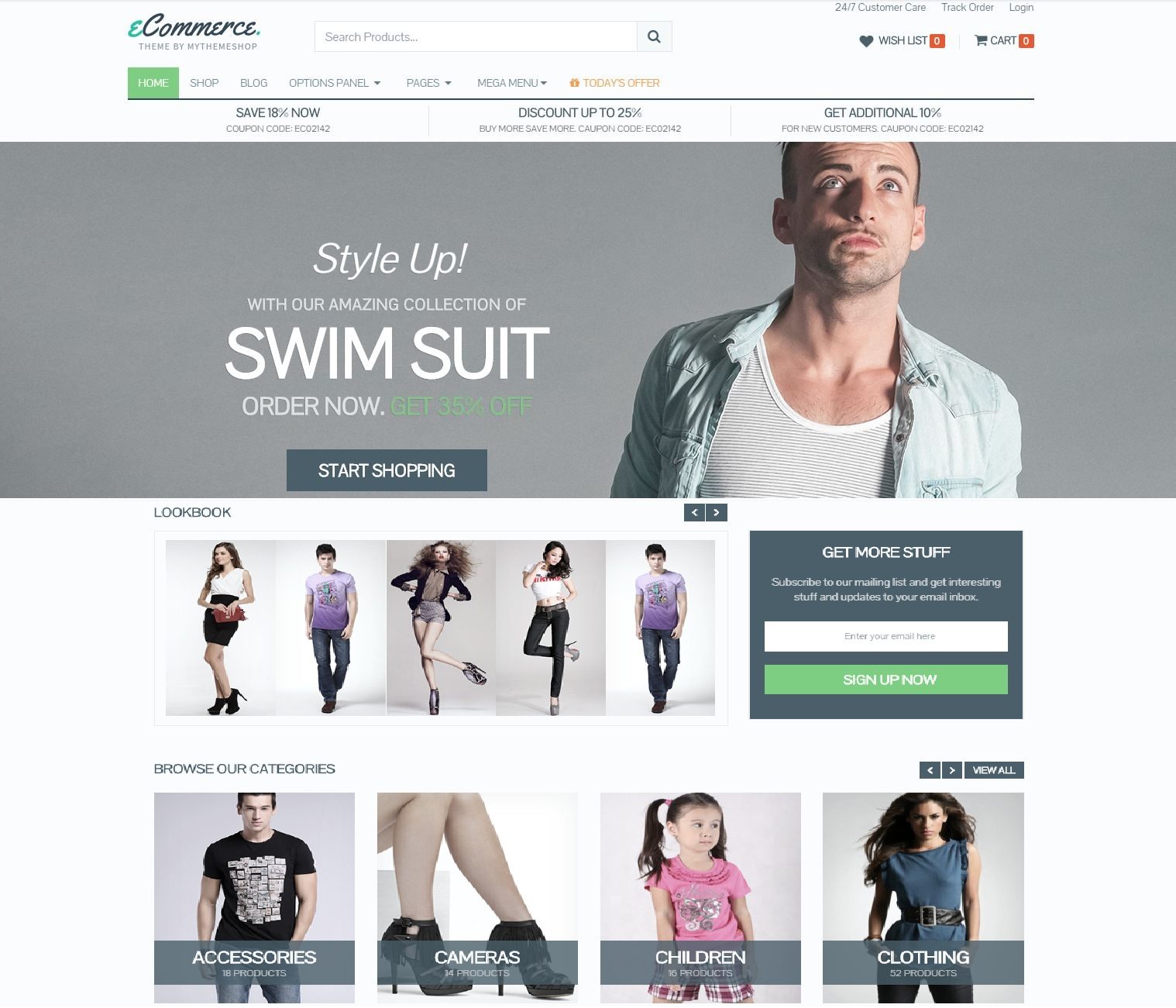 Mẫu website wordpress theme Ecommerce default-1